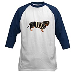 Lily Cool Sweater Dachshund Dog Baseball Jersey