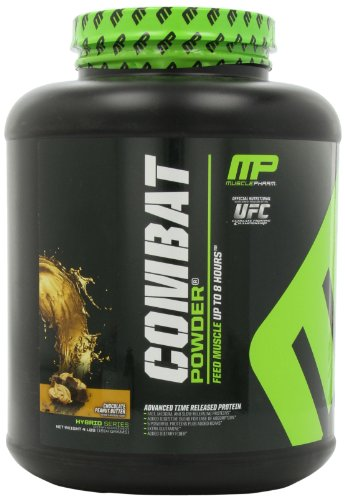 Muscle Pharm Combat, Chocolate Peanut Butter, 4-Pound