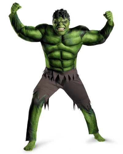 Hulk Classic Muscle Costume - XX-Large - Chest Size 50-52