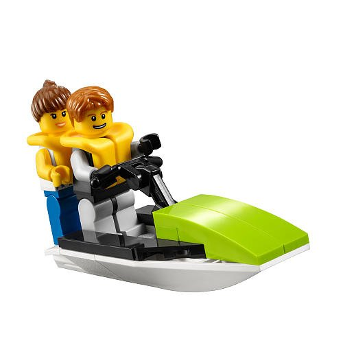 LEGO City Mini Figure Set #30015 Jet Ski Bagged