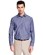 Collezione Pure Cotton Striped Shirt