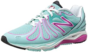 New Balance Womens W890PB3 Pink/Blue Running Shoes 4 UK, 36.5 EU