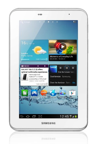 Samsung Galaxy Tab2 7 inch Tablet - White (8GB, WiFi, Android 4.0)