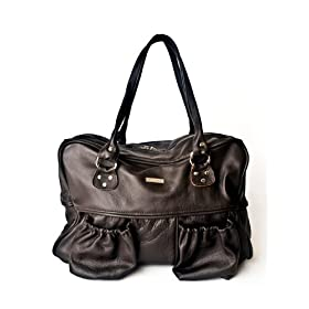 Chloe Diaper Bag in Brown