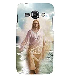 ColourCraft Lord Jesus Back Case Cover for SAMSUNG GALAXY ACE 3