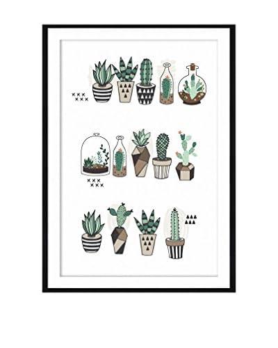 Really Nice Things Panel Decorativo Cactus