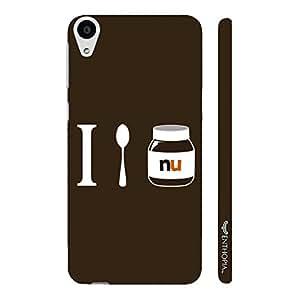 HTC Desire 728 I LOVE NUTELLA designer mobile hard shell case by Enthopia
