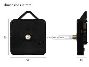 Mecanisme horloge hermle