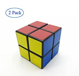 Finegood Shengshou 2x2x2 Puzzle Cube Black (2 pack) with cube bag