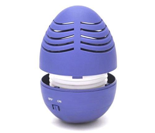Mini Small Egg Tumbler Portable Speaker For Iphone, Ipad, Ipod, Mp3, Mp4, Laptop (Blue)
