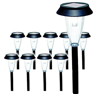 Click to buy LED Outdoor Lighting: Sunforce Solar Garden Lights from Amazon!