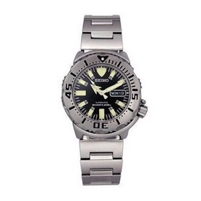 Seiko Divers Automatic Black Monster SKX779K Men's Watch
