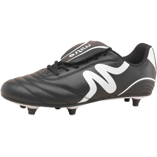 Mitre Mens Intent SG Football Boots Black/White