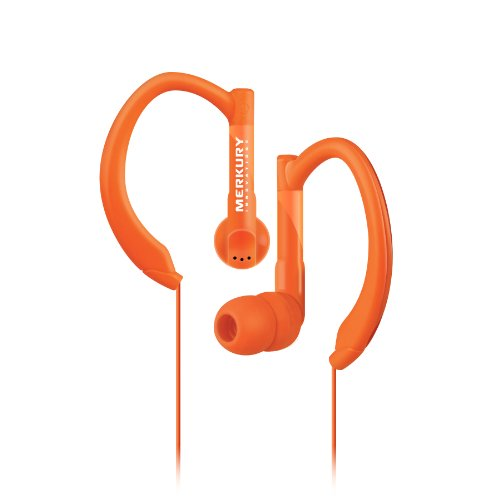 Merkury Innovations Mi-Es100-800 Active Sport Earbuds - Orange