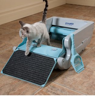 Littermaid LM680C Automatic Self-Cleaning Classic Litter Box Features. & best self cleaning litter box : Littermaid LM680C Automatic Self ... Aboutintivar.Com