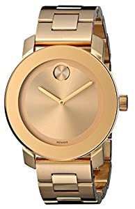 Movado Women's 3600085 Bold Analog Display Swiss Quartz Gold Watch from Movado