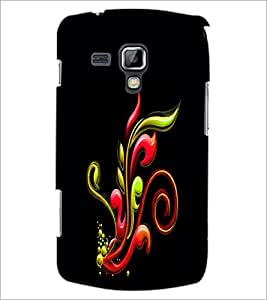 PrintDhaba Pattern D-2336 Back Case Cover for SAMSUNG GALAXY S DUOS S7562 (Multi-Coloured)