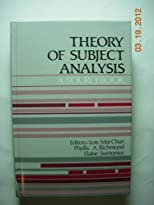 Theory of Subject Analysis