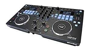 Gemini GMX Series GMX-Drive Professional Audio DJ Multi-Format CD Drive, USB, MP3, WAV and DJ Software Compatible Media Controller System with Touch-Sensitive High-Res Jog Wheels