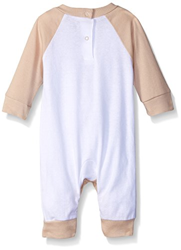 Gerber Unisex-Baby Newborn 2 Pack Coverall, Brown Bear, 3-6 Months