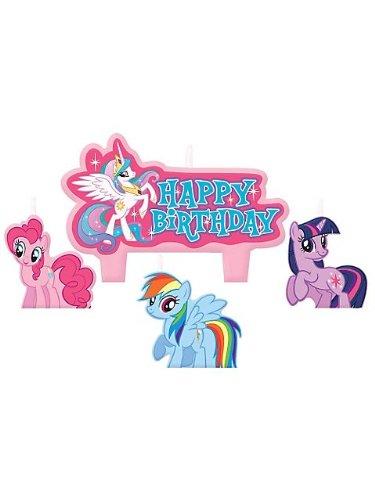 Amscan My Little Pony Birthday Candle Set