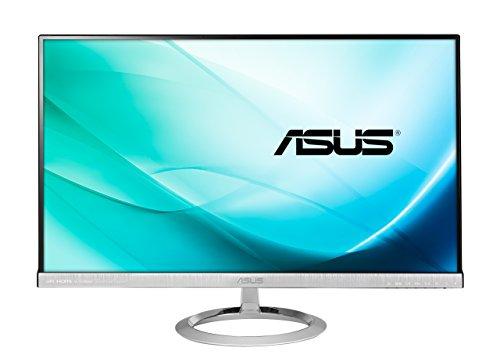 Asus MX279H 68,6 cm (27 Zoll) Monitor (Full HD, VGA, HDMI, 5ms Reaktionszeit) schwarz/silber