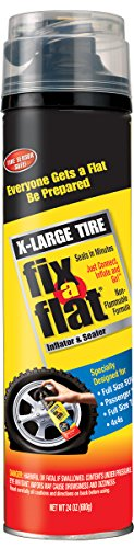 Fix-A-Flat S60169 Aerosol Tire Inflator with Hose for X-Large Tires - 24 oz. (Fix A Flat Tire Inflator compare prices)