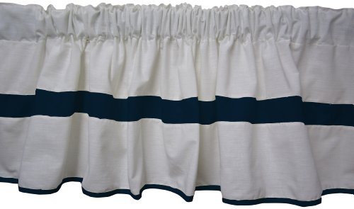 Navy And White Baby Bedding 9726 front