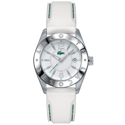 Lacoste Sport Collection Biarritz Rubber Strap White Dial Women's watch #2000507