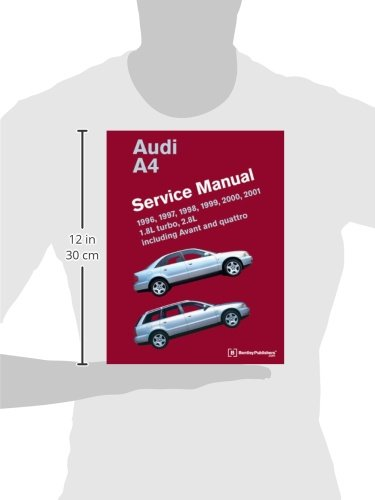 audi a4 b5 service manual 1996 1997 1998 1999 2000. Black Bedroom Furniture Sets. Home Design Ideas