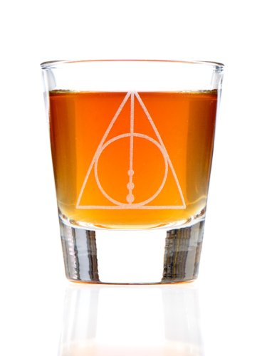 The Deathly Hallows Harry Potter Inspired Shot Glass