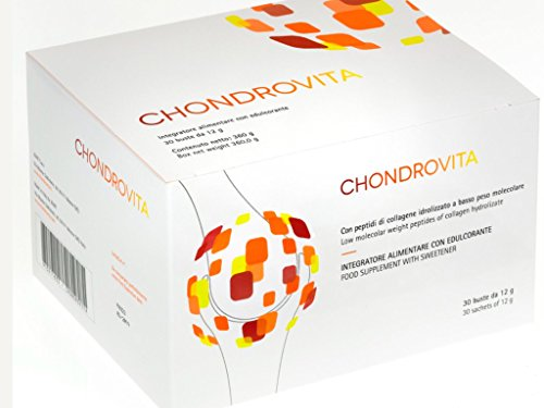 CHONDROVITA integratore alimentare PER LA CURA DELLE ARTICOLAZIONI 30 buste da 10 gr di collagene idrolizzato.