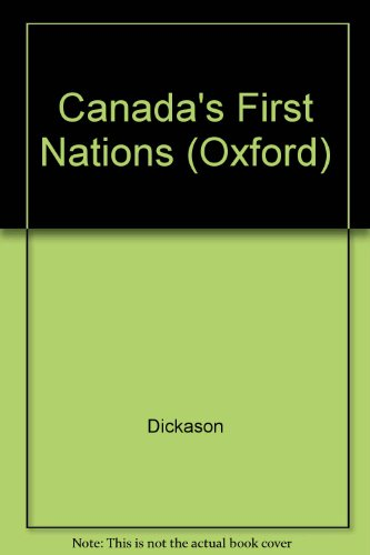 Canada's First Nations (Oxford)