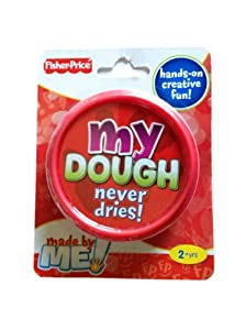 Fisher Price My Dough Never Dries Out RED