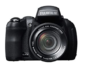 Fujifilm FinePix HS35EXR Fotocamera Digitale 16 Megapixel, Sensore CMOS EXR, Zoom 30x 24-720 mm, Stabilizzatore Meccanico, Batteria al Litio, Nero