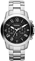 Fossil Men's FS4736 Grant Stainless Steel Watch by FOSSIL