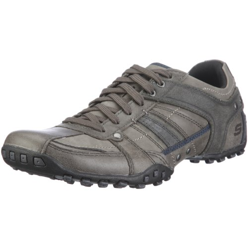 Skechers Men's Citywalk Owner Half Shoe Grey UK 5.5