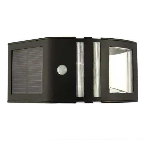 Tabstore Bright Warm Light Led Wireless Solar Powered Motion Sensor Light Wall Light Lamp
