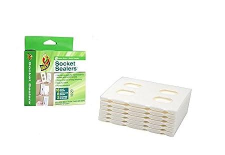 Duck Brand 283333 Socket Sealers Variety Pack, 16 Outlet Sealers ...