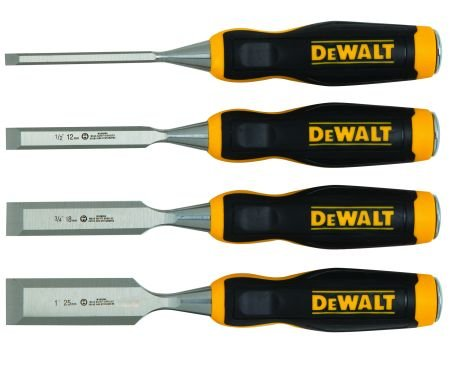 4 Piece Wood Chisel Set With Double Sided Foam Tape front-545974