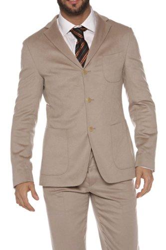 Hugo Boss Black Cashmere Suit MANSON-1/SHADE, Color: Beige, Size: 94
