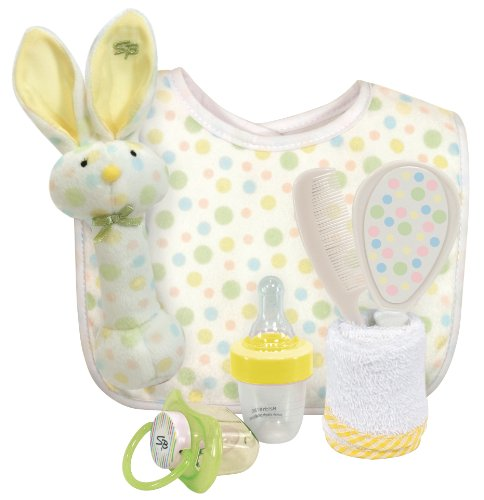 Stephan Baby 6 Piece Gift Set, Multi-Dot
