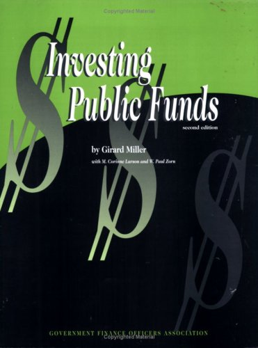 Investing Public Funds (second edition)