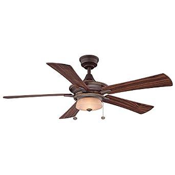 Hampton Bay Winthrop 52 In Rustic Bronze Ceiling Fan