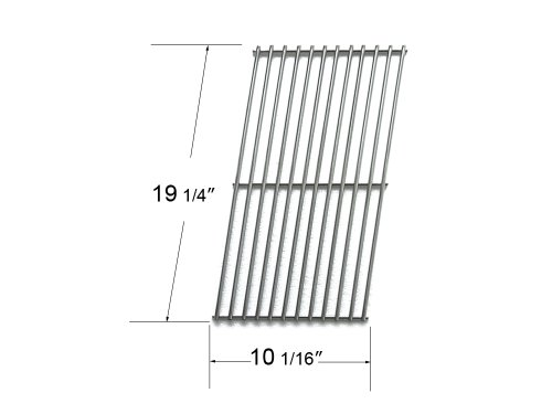 59151 Stainless Steel Cooking Grid For Select Gas Grill Models By Amana, Aussie And Others front-633140