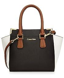 Calvin Klein On My Corner Saffiano Crossbody Handbag