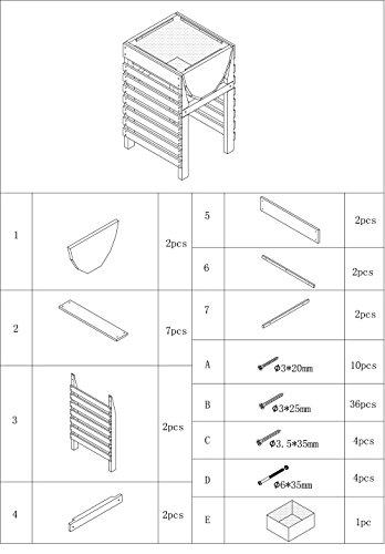 dobar-Dekoratives-Hochbeet-aus-Holz-Kiefer-natur-fr-Garten-Tischbeet-Bausatz-fr-Gemse-Kruter-Blumen-Beet-Pflanzbeet-fr-Terrasse-Balkon