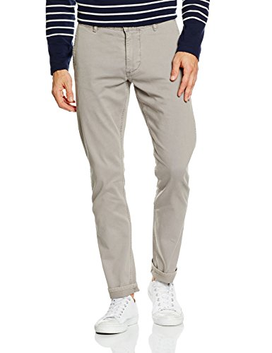 Dockers Alpha - Skinny Tapered, Pantaloni Uomo, Grigio (Foil), 31/34(UK)