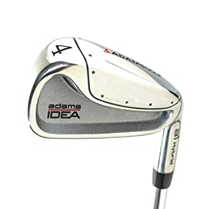 New Adams Idea A1 Hybrid 4-Iron Reg Flex Steel RH