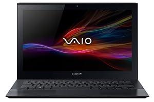 Sony VAIO Pro SVP1121M1EBI  29,5 cm (11,6 Zoll matt) Ultrabook (Intel Core i3-4005U, 1,7Ghz, 4GB RAM, 128GB SSD, Intel HD 4400, NFC, Win 8) schwarz